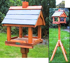 Accessories - Bird Tables - Spirit Of Wood - Elwy - Bird table