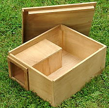 Accessories - Nest Boxes - Hedgehog Nesting Box